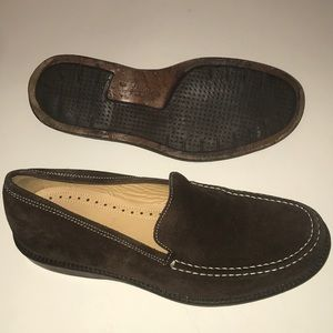 J. Crew Suede Loafers Slip-Ons Brown Men's Size 9